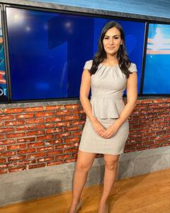 Michelle Ross standing.