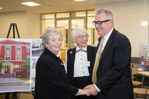 Sr. Mary Edward Zipf, Charles L. Flynn, Jr., Sr. Kathleen Tracey