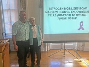 Sr. Mary Edward Zipf with Robert Suriano