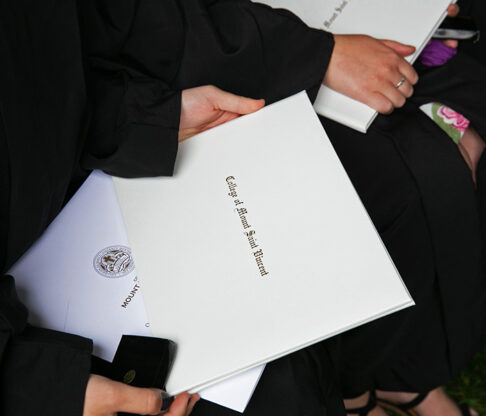 Mount Hosts Historic In-Person Commencement