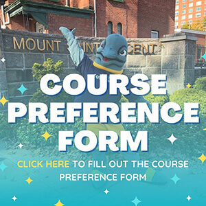 """Button saying """"Course Preference Form"""""""