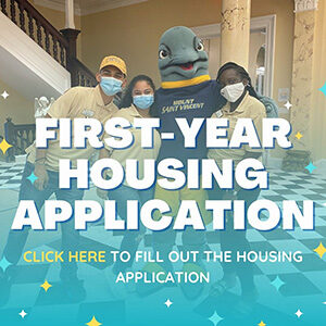 """Button saying """"First-year Housing Application"""""""