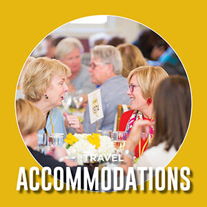 """Button saying """"travel accommodations"""""""
