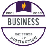 Colleges of Distinction Business Badge