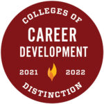 Colleges of Distinction Career Development Badge