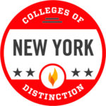 Colleges of Distinction New York Badge