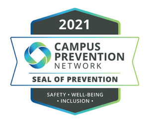 Campus Prevention Network Seal 2021